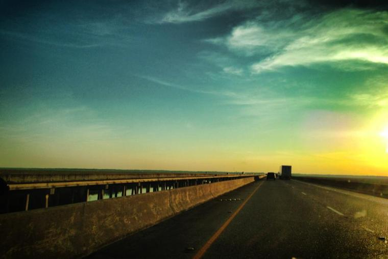 En la Carretera - Mississippi On the road - Mississipi