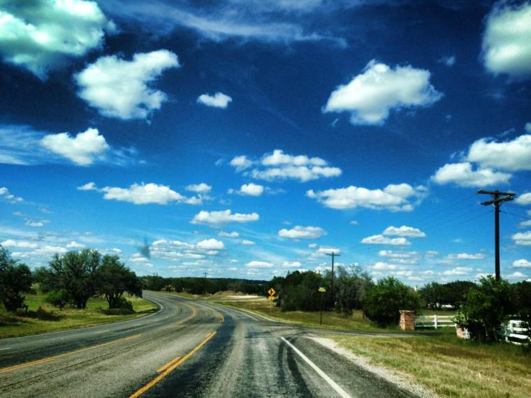 En la carretera - Texas On the road - Texas