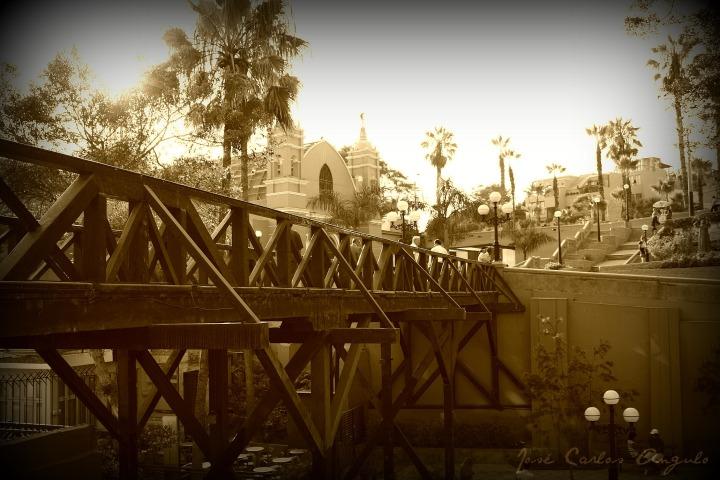 Puente de los suspiros - Lima Perú