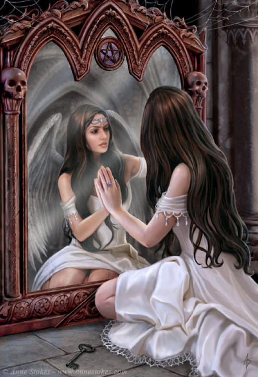 desde el espejo